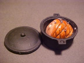 Ham In A Black Pot 1:12 scale