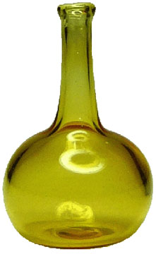 Bright deLights Large Glass Yellow Onion Jar 1:12 scale