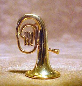 Baritone Tuba 1:12 scale