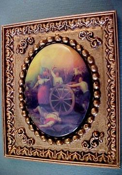 Jim Coates Miniatures Framed Revolution Cameo 1:12 scale