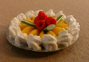 Meringue Pie 1:12 scale
