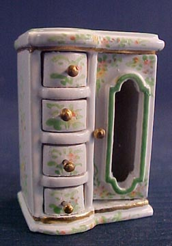 Bright deLights Hand Painted Jewel Chest 1:12 scale