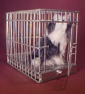 Large Dog Cage 1:12 scale