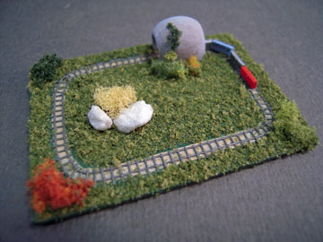Lorraine Heller Handcrafted Toy Train Set 1:12 scale