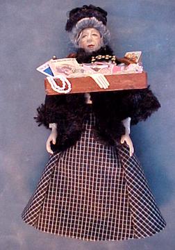 Loretta Kasza Marla The Peddler Lady 1:12 scale