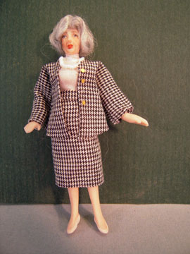 Loretta Kasza Contemporary Hatty The Office Manager 1:24 scale