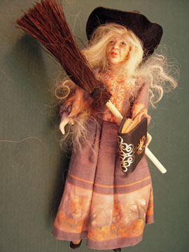 Loretta Kasza Handcrafted Tess The Witch 1:12 scale