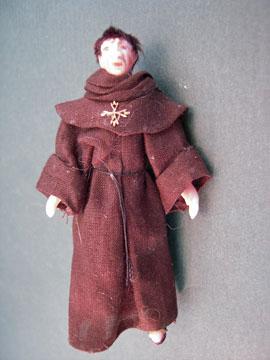 Loretta Kasza Friar Thomas Porcelain Doll 1:24 scale