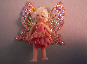 Loretta Kasza Handcrafted Pamela The Tiny Fairy Doll 1:12 scale