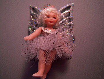 Loretta Kasza Handcrafted Sarah The Tiny Fairy Doll 1:12 scale