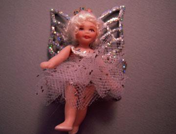 Loretta Kasza Handcrafted Sarah The Tiny Fairy Doll 1:12 scale