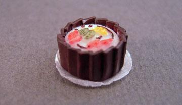 Miniature Decorated Cake 1:24 scale