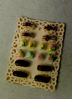 Dessert Tray 1:12 scale