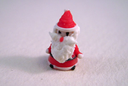Bright deLights Tiny Christmas Santa 1:12