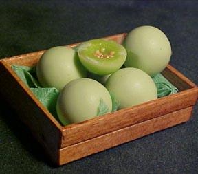 Crate Of Honeydews 1:12 scale