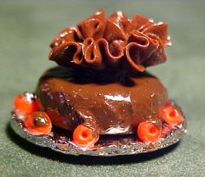 Chocolate Cake 1:12 scale