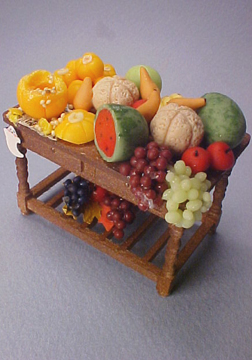 Fantastic Filled Fruit Table 1:24 scale