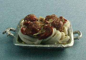My Minis Spaghetti and Meatballs 1:24 scale