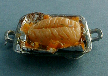 My Minis Cooked Salmon 1:24 scale