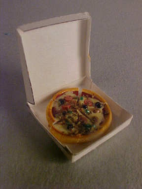 My Minis Meat Lovers Pizza 1:24 scale