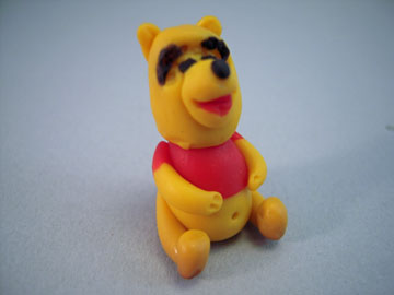 My Minis Handcrafted Winnie The Pooh Figurine 1:12 scale