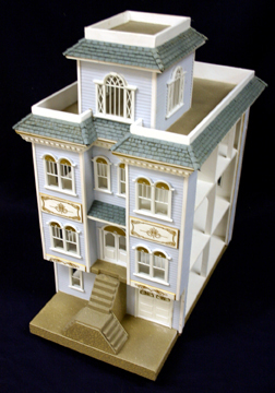 Majestic Mansions Morningside Mansion Dollhouse Kit 1:24 scale