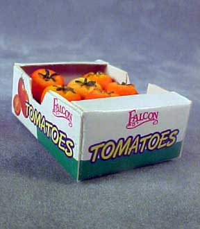 Case Of Tomatoes 1:12 scale