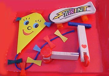 Bodo Hennig Modern Toy Set 1:12 scale