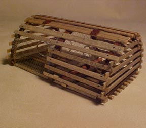 New England Lobster Trap 1:12 scale