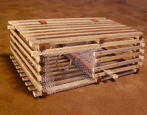 Maine Lobster Pot 1:12 scale
