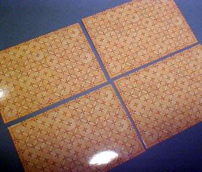 Parquet Flooring 1:24 scale