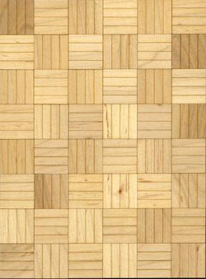 "Brodnax 1/2"" Scale Lille Maple Parquet Flooring Kit"