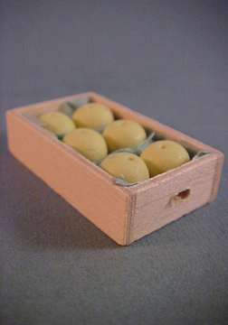 Crate Of Grapefruit 1:12 scale