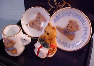 Teddy ABC Breakfast Set 1:12 scale
