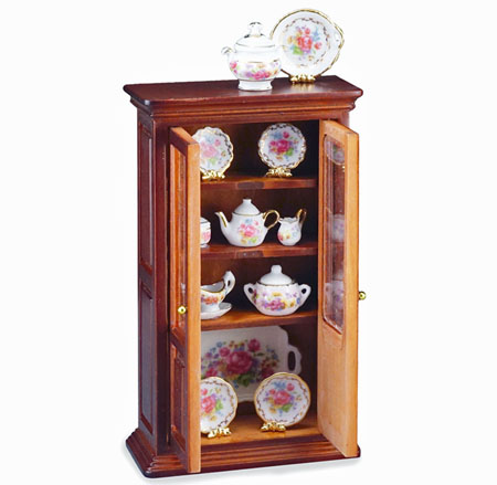 Reutter Porecelain Fillled China Cabinet 1:12 scale