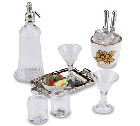 Reutter Porcelain Bar Mixing Set 1:12