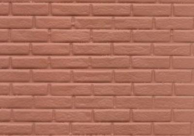 Red Rough Brick 1:24 scale