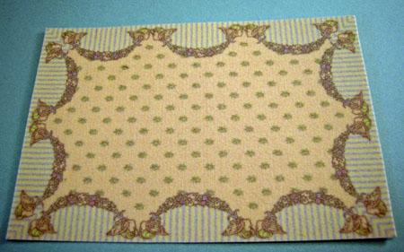 Brodnax Light Yellow Carpet 1:24 scale