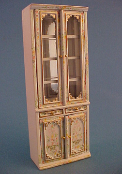 Bespaq Hand Painted Emporium Double Display Case 1:24 scale