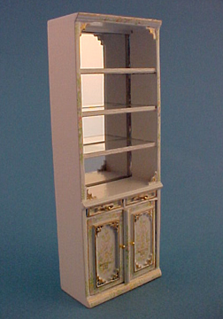 "Bespaq 1/2"" Scale Hand Painted Emporium Open Display Case"