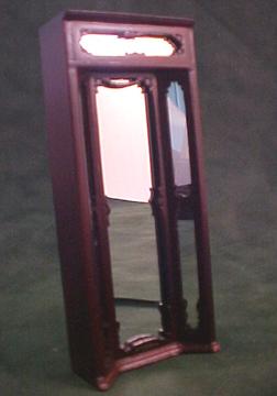 Bespaq Mahogany Emporium Three Way Mirror 1:24 scale