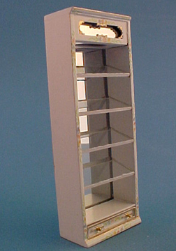 Bespaq Hand Painted Emporium Slant Display Case 1:24 scale