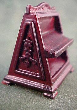 Bespaq Mahogany Emporium Shoe Mirror 1:24 scale