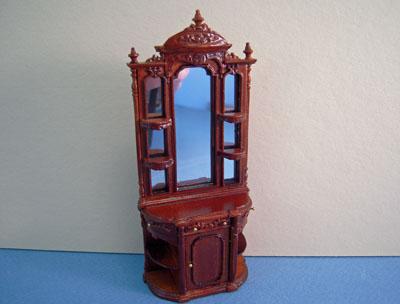Bespaq Miniature Walnut Portia Collector's Case 1:24 scale