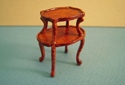 Bespaq Walnut Mi Lady's Perfume Table 1:24 scale