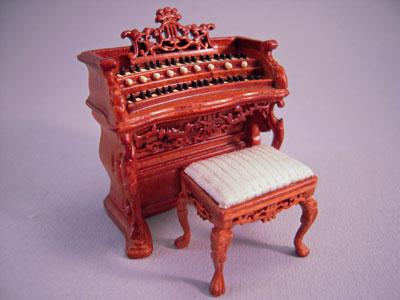 Bespaq Walnut Fantasy Lyre Bombe Organ