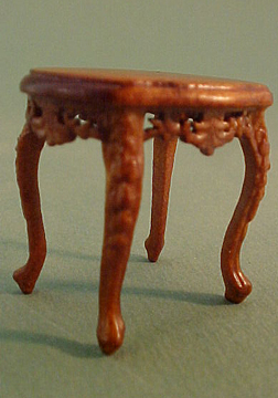 Bespaq Walnut Mederian End Table 1:24 scale