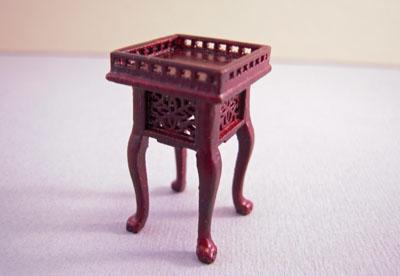 Bespaq Mahogany Washington Side Table 1:24 scale
