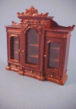 JBM UK Miniatures Miniature Heavy Bookcase 1:24 scale