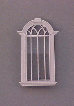 Majestic Mansions Miniature Cambridge Single Window 1:12 scale